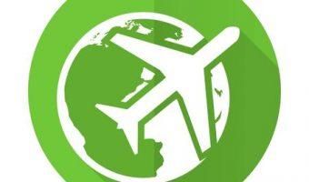 38136305-icône-plate-de-voyage-vert